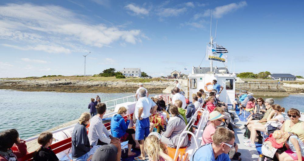 Cap vers l'archipel des Glénan en bateau vedette