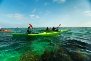 Evasion aux iles Glenan en kayak de mer