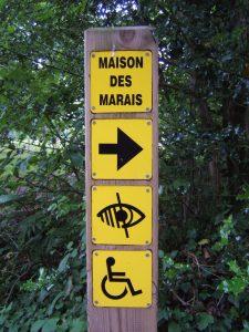 Tourisme et Handicap, la Maison des Marais à Fouesnant