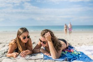 France, Finistere (29), Fouesnant, plage de Maner Coat Clévarec