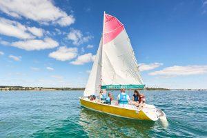 Sortie en bateau à Fouesnant