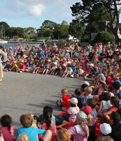 Place aux mômes: spectacle pour enfants à la pointe du Cap-Coz