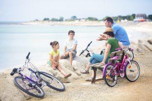 Balade à vélo à Fouesnant