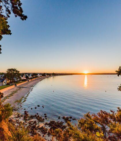 Lever de soleil sur le Cap-Coz