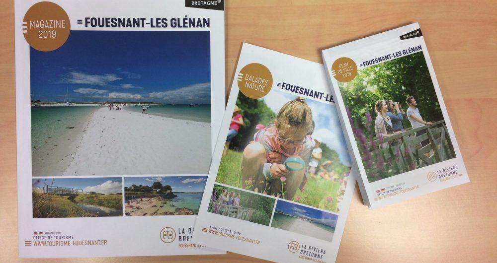brochures 2019 Fouesnant-les Glénan