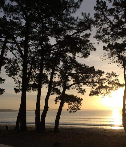 Lever de soleil au Cap-Coz