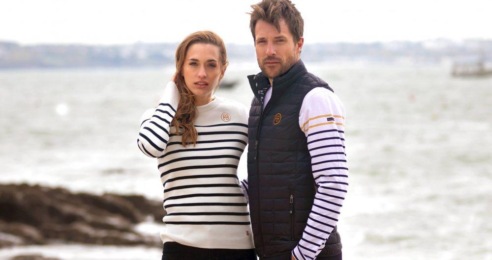 Collection la Riviera Bretonne avec Armor Lux