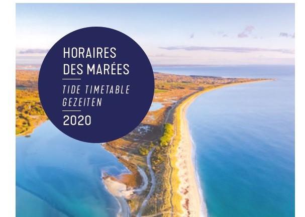 Horaires des marées 2020 Riviera Bretonne