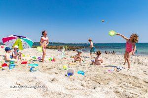 Jeux de plage à Fouesnant