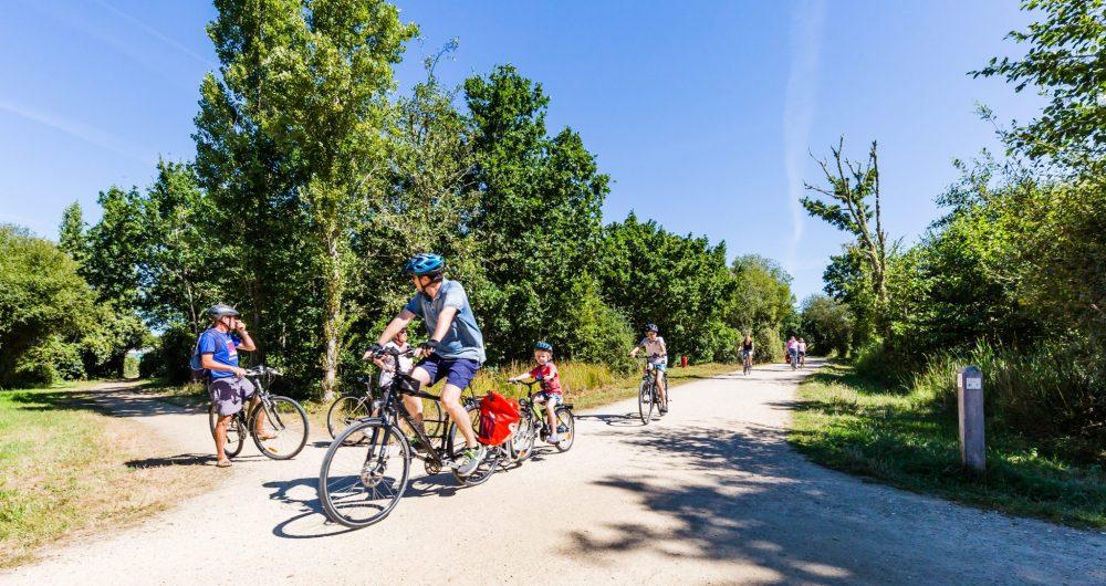 Balade à vélo dans les marais de Mousterlin