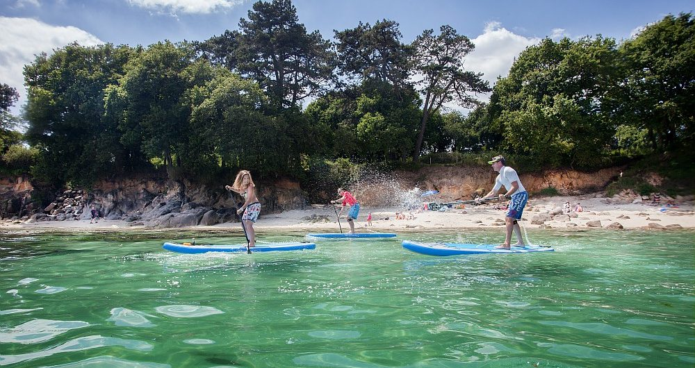 Balade en Paddle à Fouesnant-les Glénan