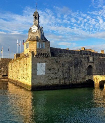 Découvrir la cité fortifiée de la ville close de Concarneau