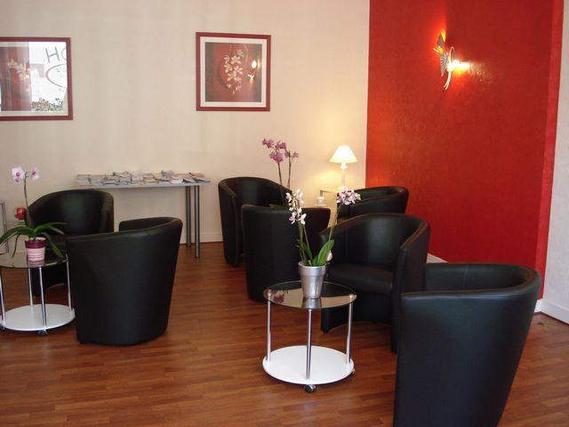 Fouesnant-Hotel l'Oree du Bois Salon