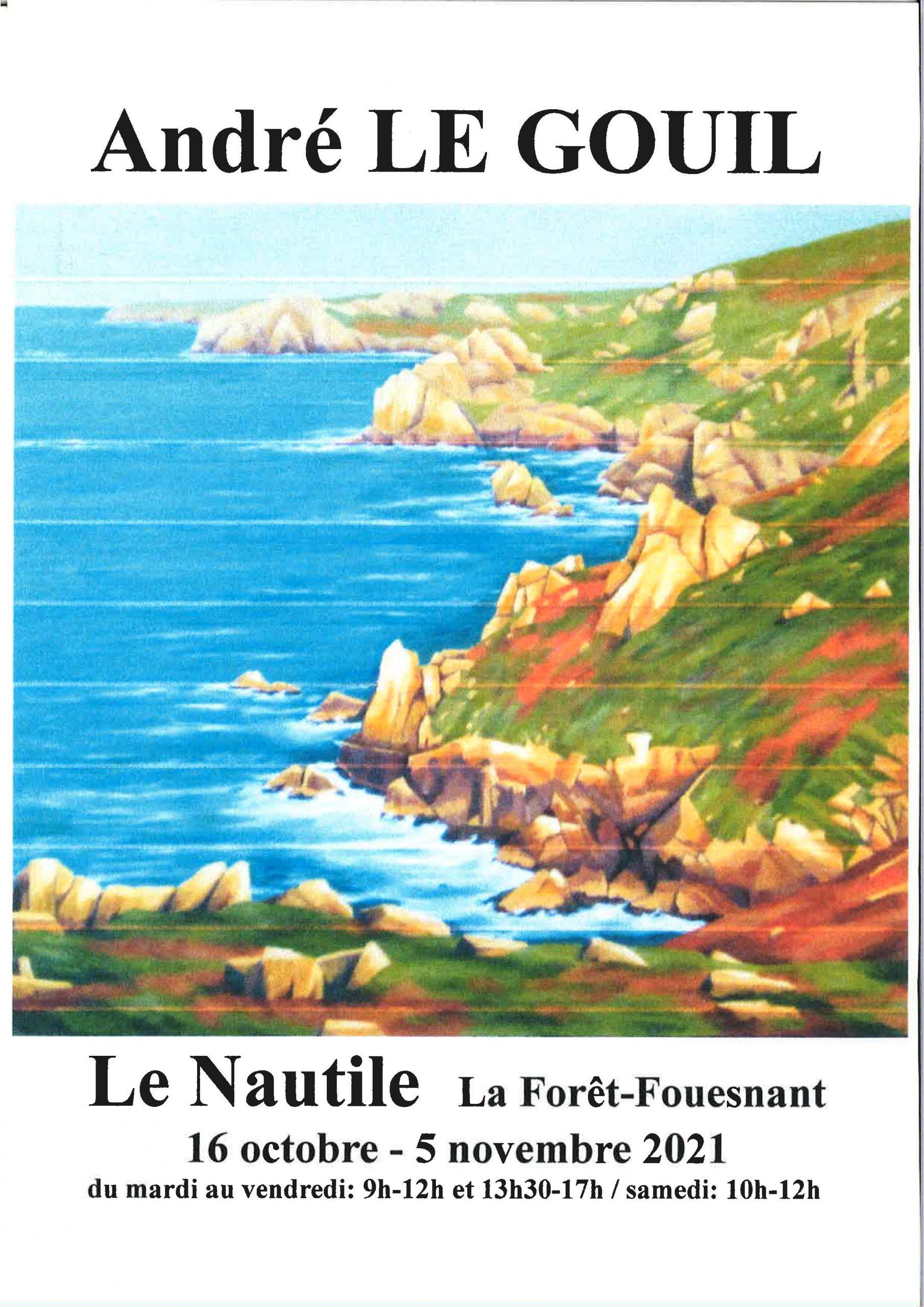 Exposition d'André Le Gouil