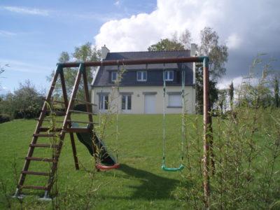 Balancoire—maison