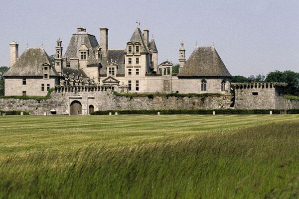 Château de Kerjean, parc