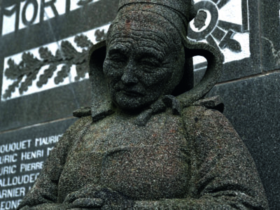 Le monument aux morts de Fouesnant