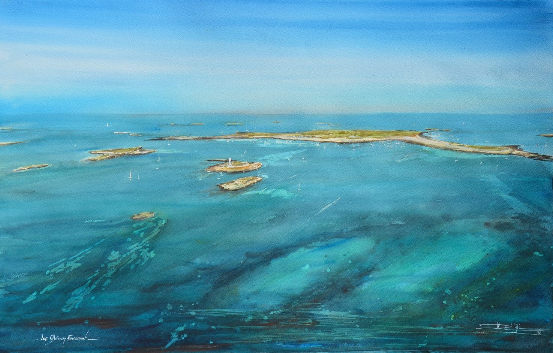 Exposition Nicolas Quilliec – Aquarelles