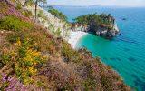 La plage de l'île Vierge