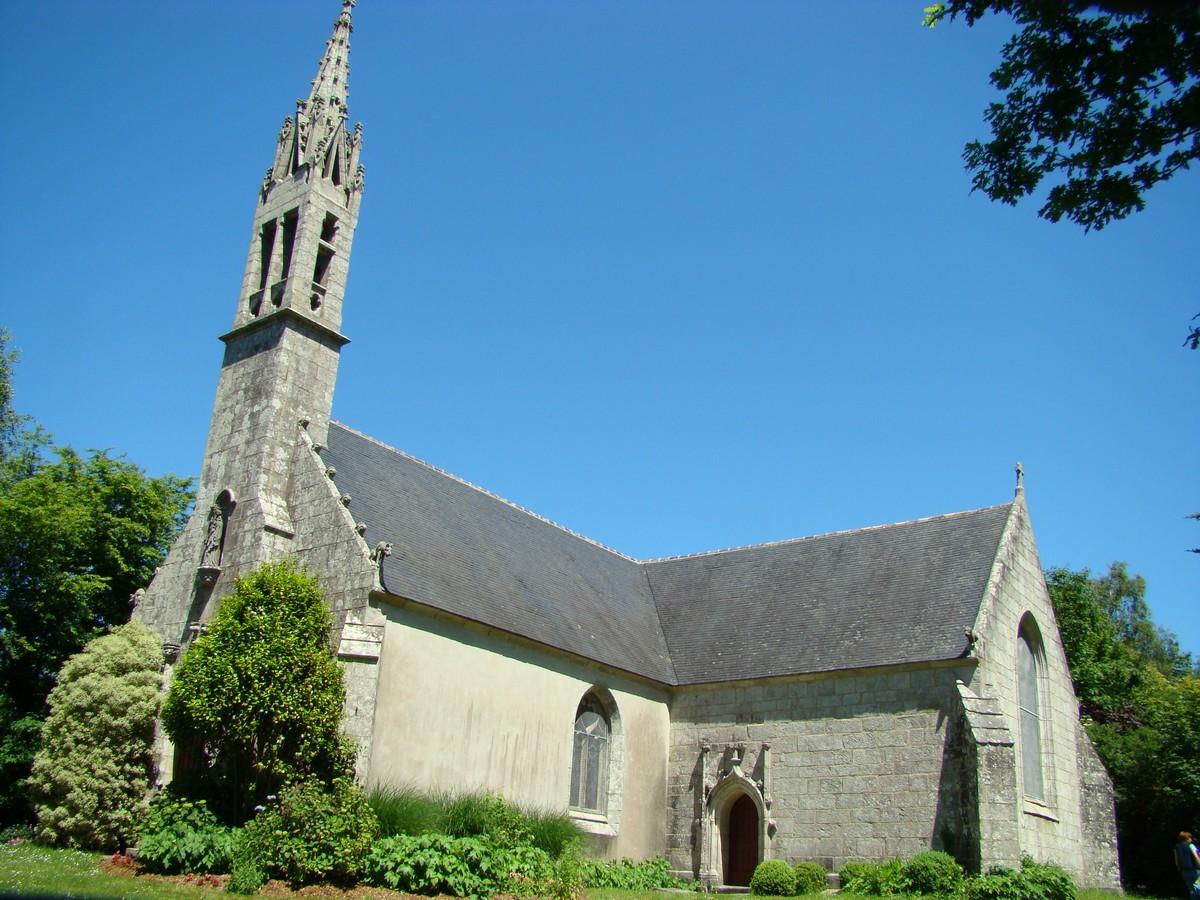 Visite de la chapelle du Drennec