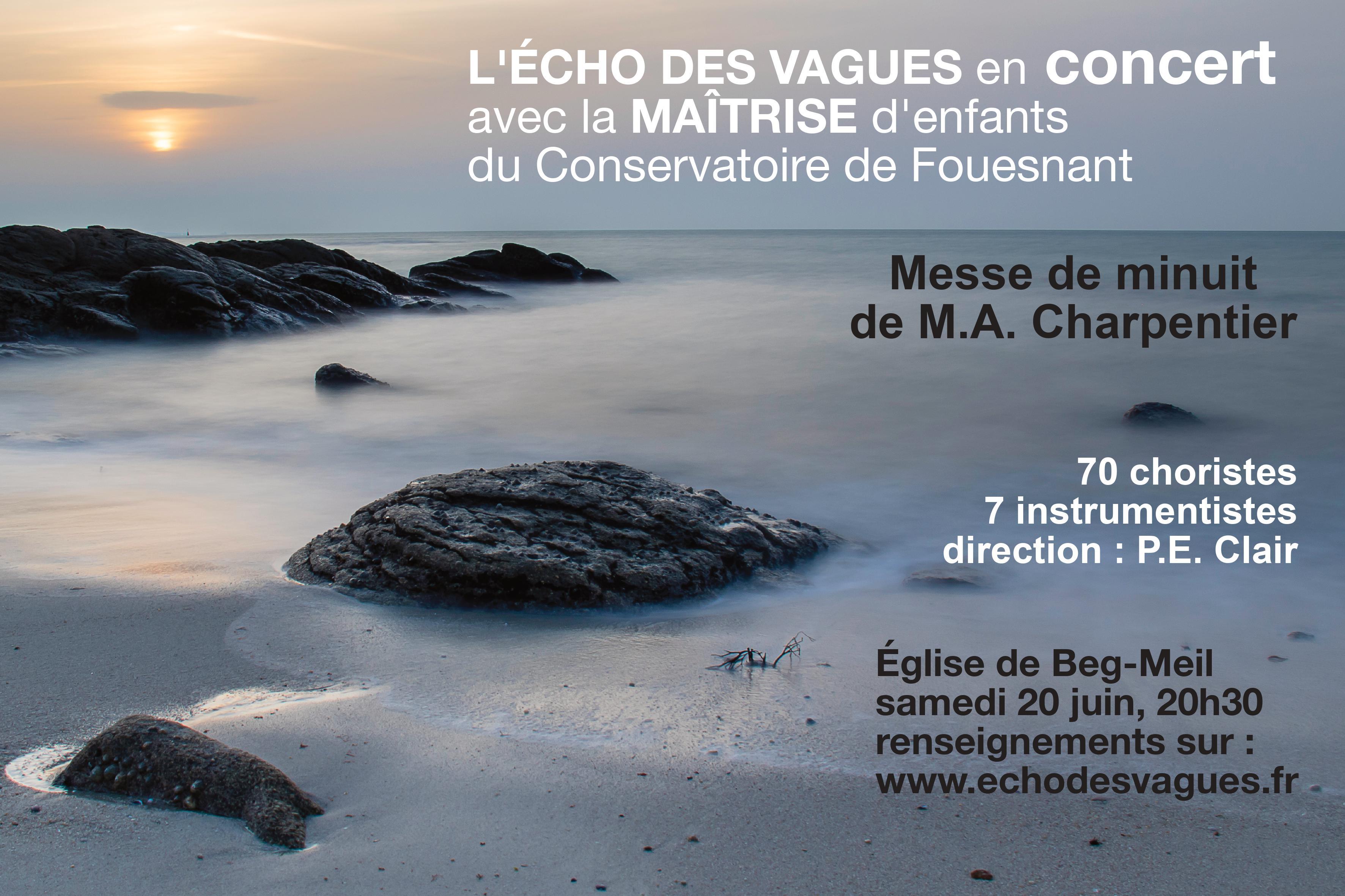 Concert de la chorale l'Echo des Vagues