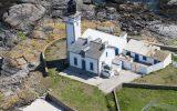 photo de l'ile aux moutons, archipel des iles Glenan