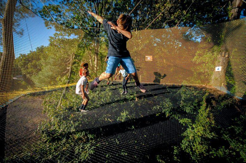 Trampôforest – trampoline